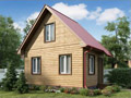 Дом-да Малыш (6 x 4 м2)