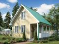 Дом-да Лесной (6 x 6 м2)
