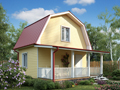 Дом-да Радонеж (6 x 6 м2)
