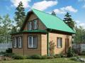 Дом-да Ладога (6 x 8.5 м2)