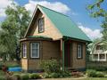 Дом-да Колибри (6 x 6 м2)