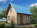 Дом-да Дачный (6 x 6 м2)