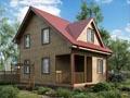 Дом-да Валдай-2 (6 x 8 м2)