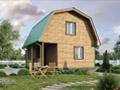 Дом-да Озерный (6 x 6 м2)