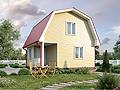 "Дачный дом ""Озерный (6х6 м2)"