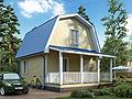 Дом-да Радонеж-2 (6 x 8 м2)